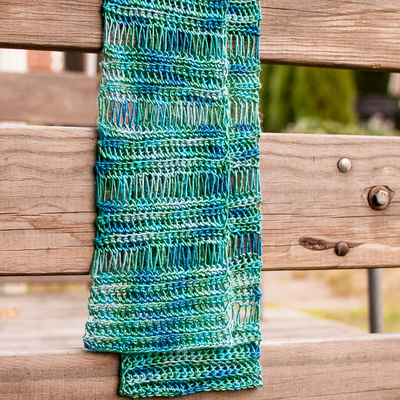 Beautiful Broomstick Lace Scarf
