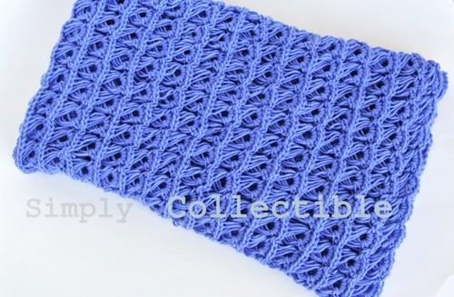 Broomstick Lace Baby Blanket Allfreecrochet