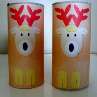 Printable Reindeer Tube Craft IMR