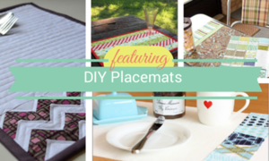 15 DIY Placemats: Dress Up Your Dinner Table