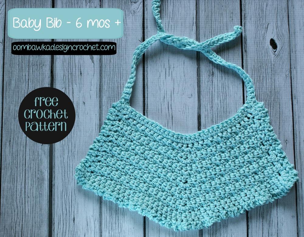 Cutie Patooty Crochet Baby Bib Allfreecrochet
