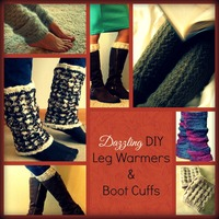 16 Dazzling DIY Leg Warmers and Boot Cuffs