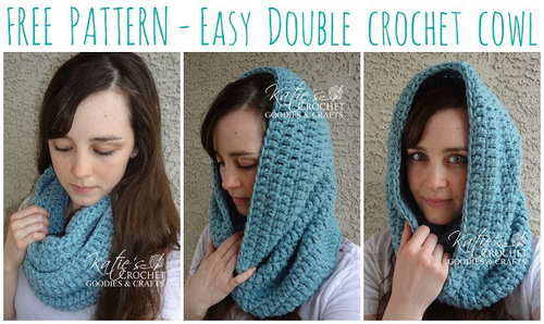 Chilly Nights Hooded Cowl Allfreecrochet