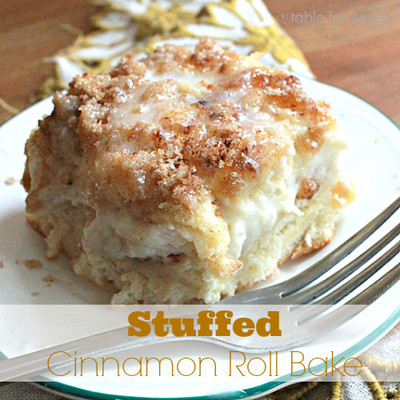 Cream Cheese Cinnamon Roll Casserole
