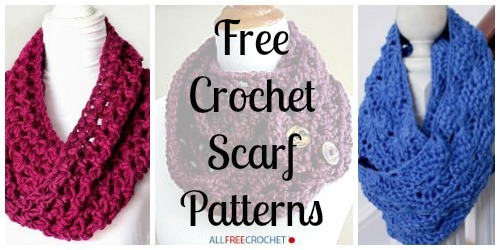 34 Free Crochet Scarf Patterns Allfreecrochet