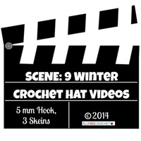9 Winter Crochet Hat Videos