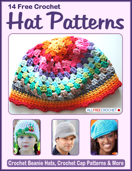 14 Free Crochet Hat Patterns