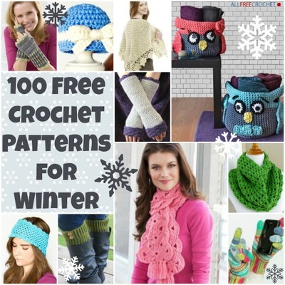 100+ Free Crochet Patterns for Winter: Free Crochet Hat Patterns ...