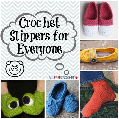 38 Easy Crochet Slippers For Adults And Kids Allfreecrochet