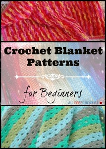 25 Crochet Blanket Patterns for Beginners