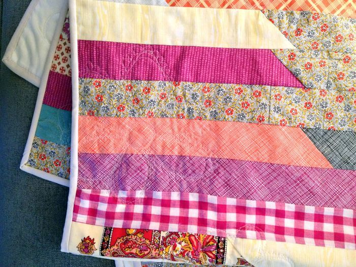 Race to the Finish Jelly Roll Quilt FaveQuilts.com
