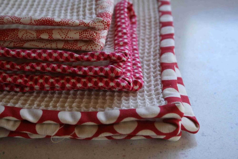 Dish Towels And Cloths Allfreesewing Com