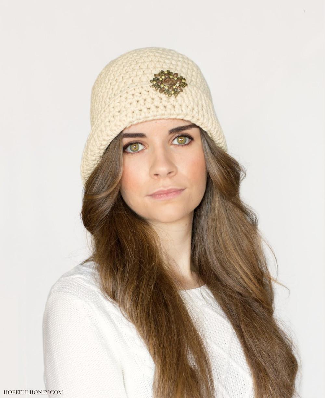 1920s Vintage Goddess Hat | AllFreeCrochet.com