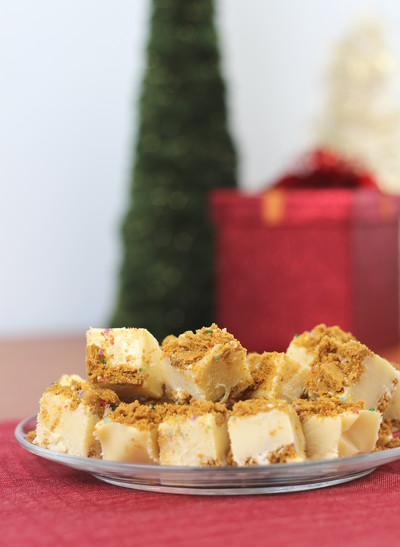 Mrs Claus Christmas Cookie Fudge
