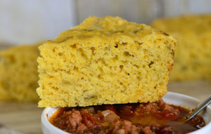 Green Chile Cheese Mexican Cornbread