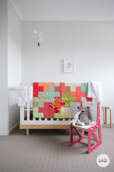Tetris Baby Quilt Favequilts