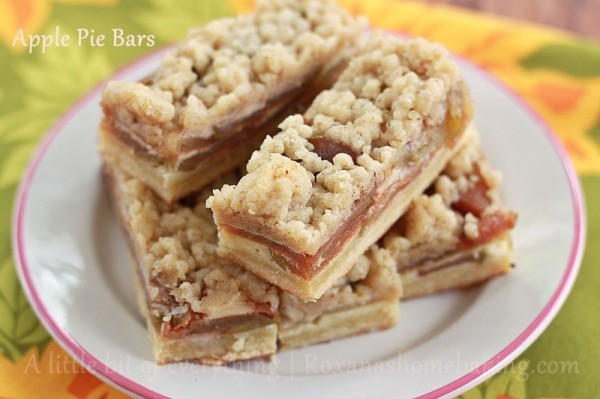 Awesome Autumn Apple Pie Bars | TheBestDessertRecipes.com
