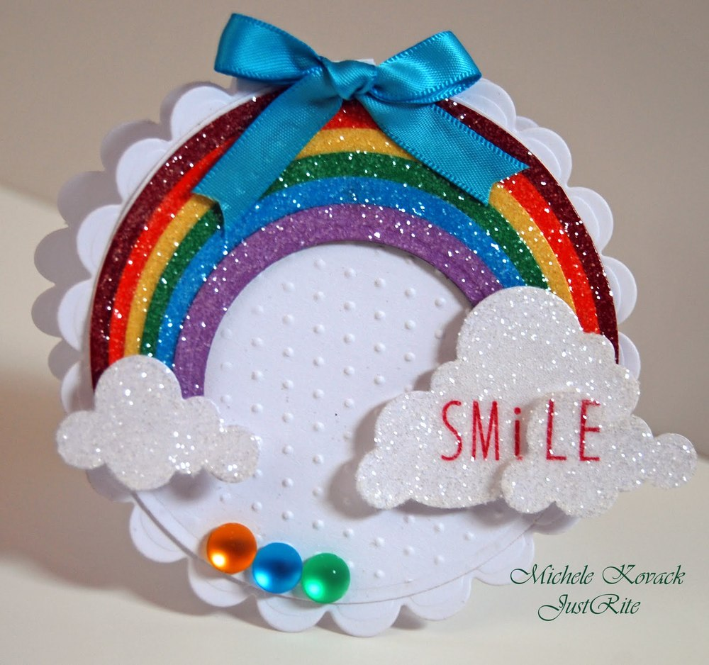20 Creative Must See Wedding Ideas For Kids: Somewhere Over The Rainbow Greeting Card