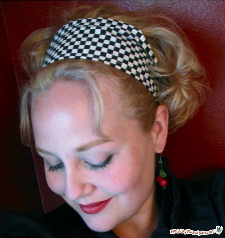 Roxanne Retro Headband Allfreesewing