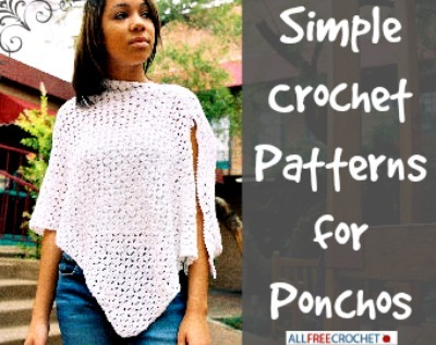 Free Quick And Easy Crochet Poncho Patterns : 24 Simple Crochet Patterns for Ponchos + Bonus eBooks ...