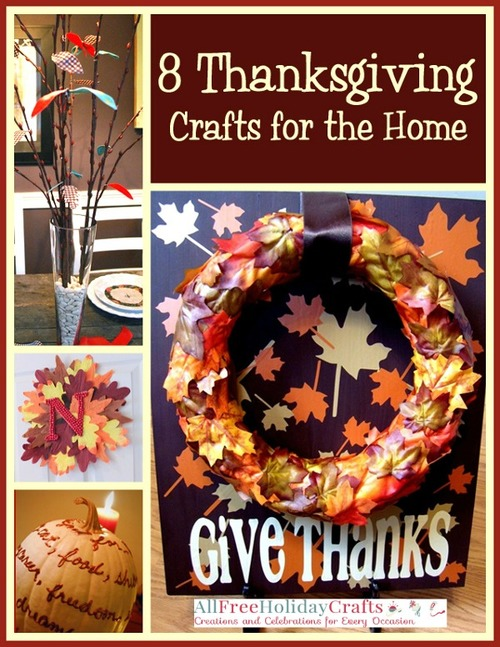 Thanksgiving Crafts for the Home eBook