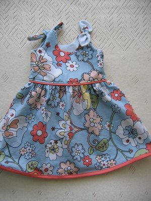 Itty Bitty Baby Dress Pattern