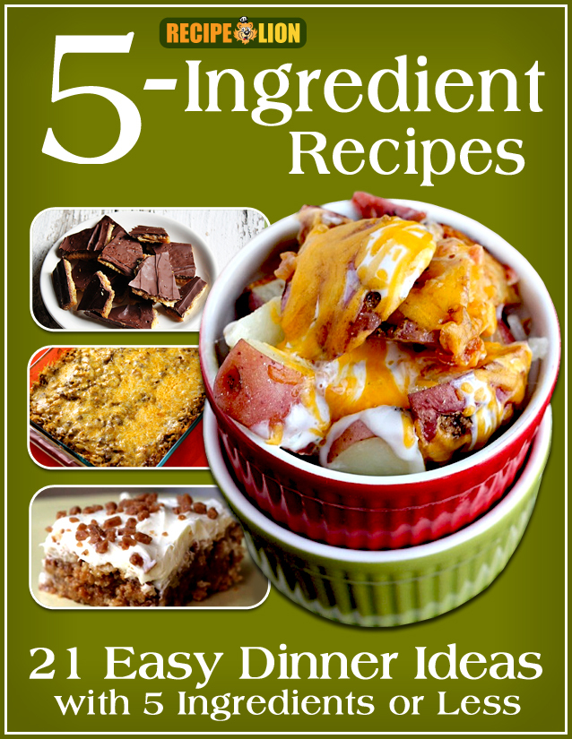 5 ingredient recipes 21 easy dinner ideas with 5 ingredients or 5 ingredient recipes 21 easy dinner ideas with 5 ingredients or less free ecookbook recipelion forumfinder Gallery