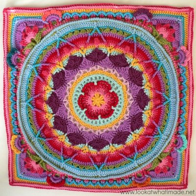 Sophies Garden Crochet Blanket