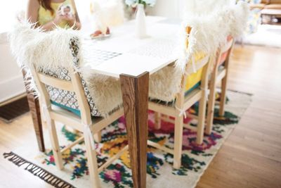 Fuzzy Wuzzy Sewn Chair Covers
