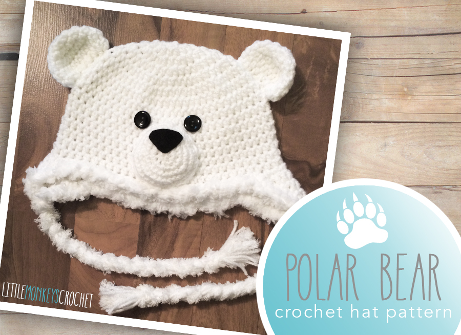 Polar Bear Baby Hat Allfreecrochet