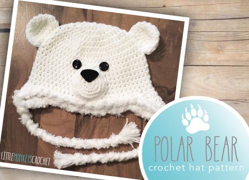 Polar bear baby hat allfreecrochet polar bear baby hat dt1010fo