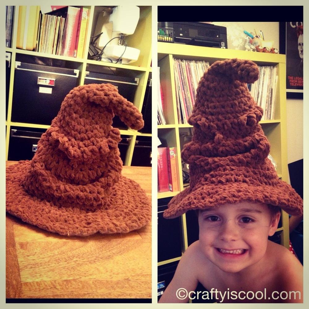 Harry S Favorite Sorting Hat Allfreecrochet Com