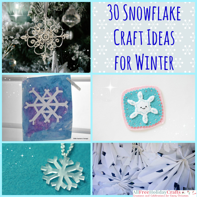 Snowflake Craft Ideas for Winter