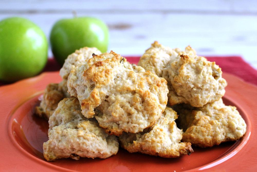 Bisquick Apple Drop Biscuits | RecipeLion.com