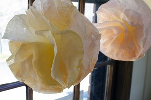 Beautiful Coffee Filter Garland