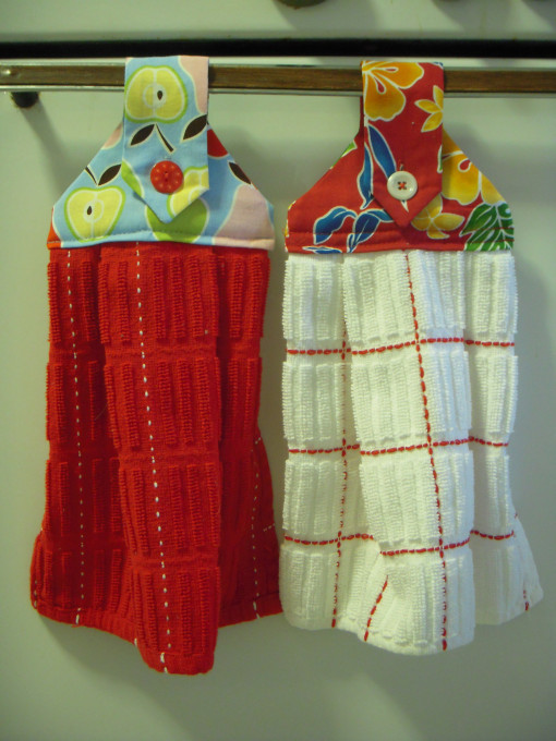 Hanging Dishtowels Allfreesewing Com