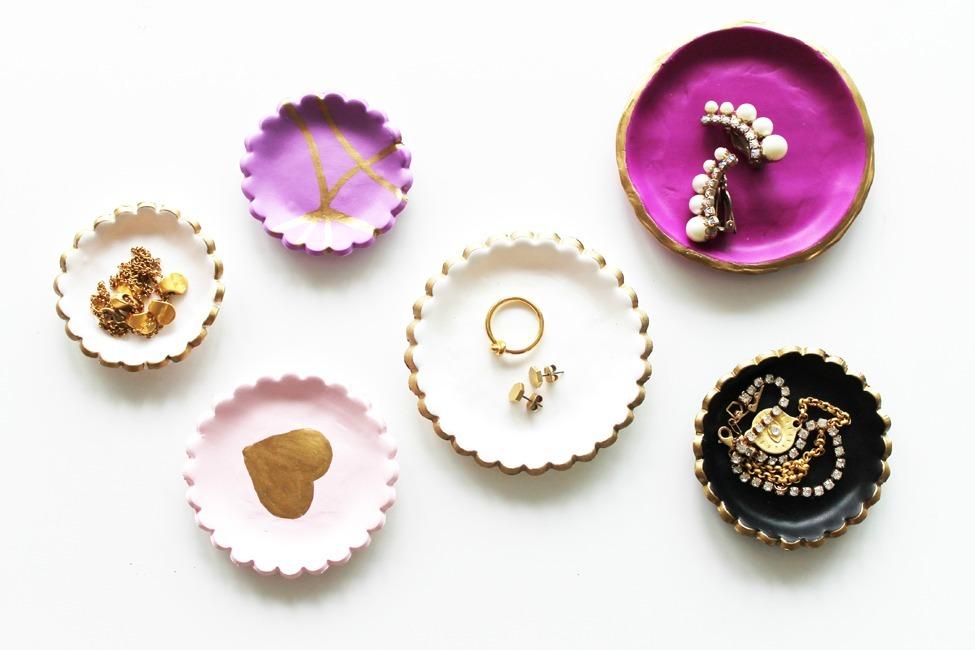 Easy Diy Clay Jewelry Dishes Allfreejewelrymaking Com