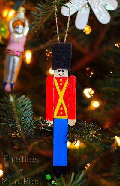 popsicle stick toy soldier - Large Toy Soldier Christmas Decoration