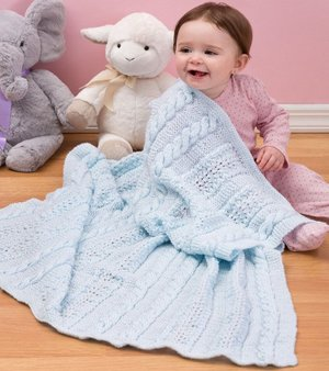 Heavenly Baby Blanket