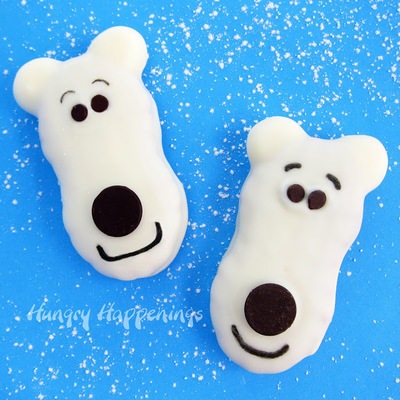 Sweet Polar Bear Cookies