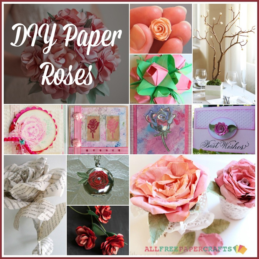 How To Make Paper Craft Flowers Step By Step Interesting Paper