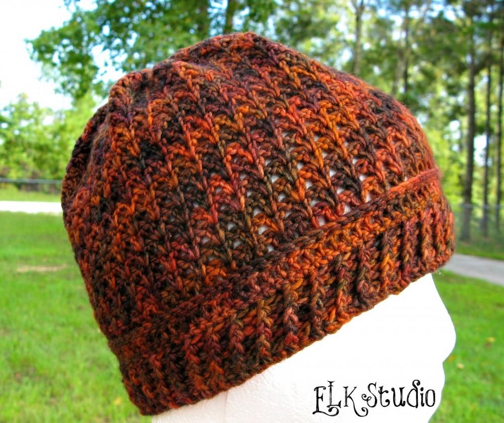 Pumpkin Spice Crochet Hat Allfreecrochet Com