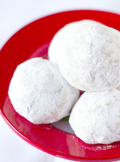 North Pole Snowball Cookies