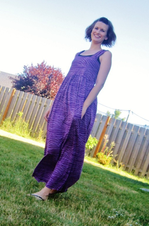 Simple Maxi Dress Allfreesewing Com
