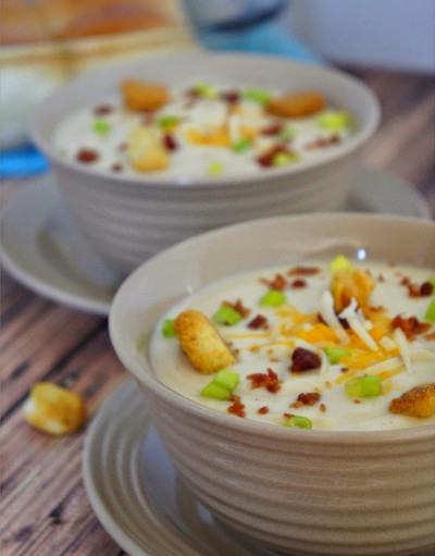 Zupas Cafe Copycat Wisconsin Cauliflower Soup