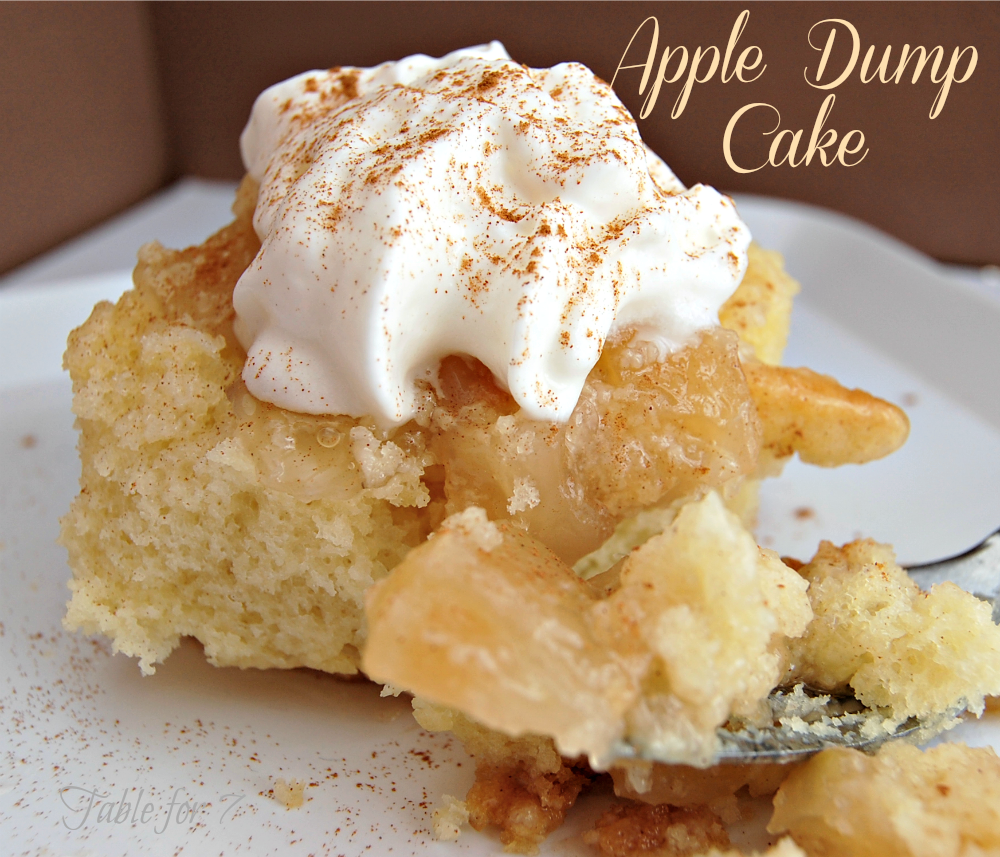 Apple Dump Cake Recipe With Yellow Cake Mix