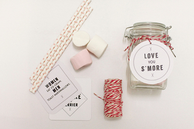 S'more the Merrier Edible Favors