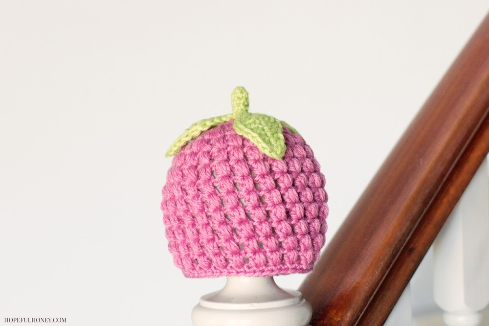 Raspberry Baby Hat Crochet Pattern Favecrafts