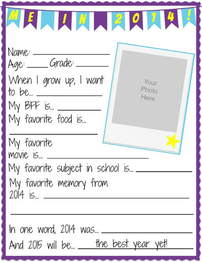 Back to School Printouts from The Teacher's Guide