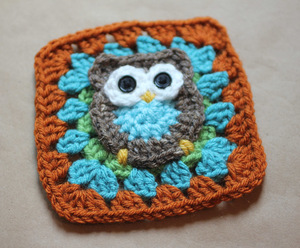 Owl Make This Crochet Granny Square